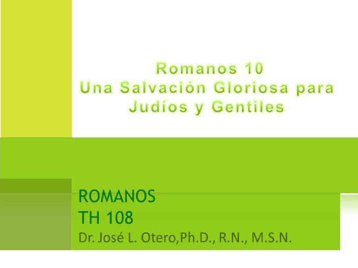 ROMANOS TH 108