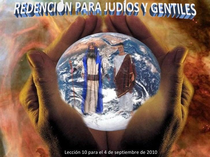 Lec 10 - Redención para Judíos y Romanos