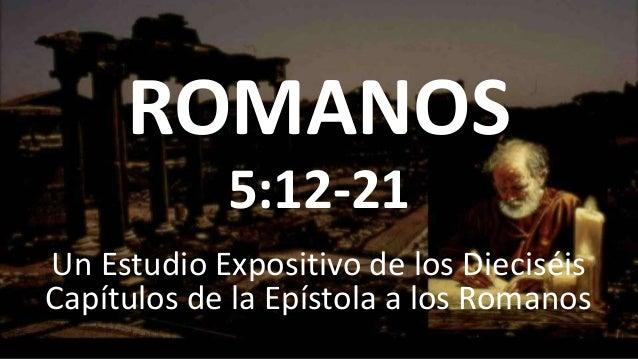 Romanos 5 12 21