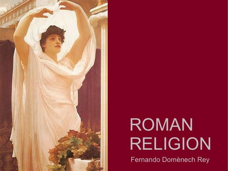 ROMANRELIGIONFernando Domènech Rey