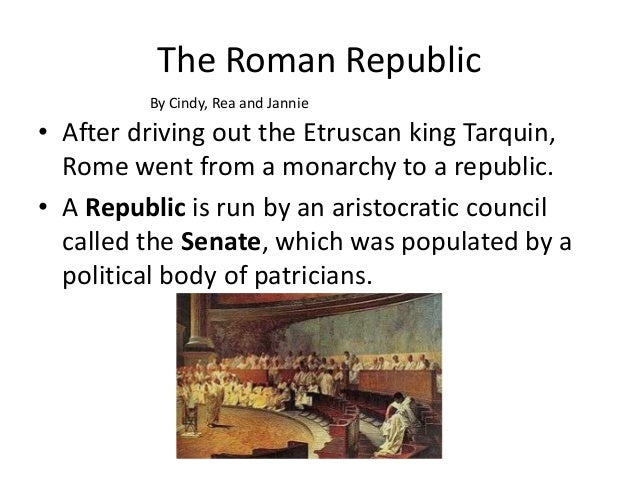 aristocratic republic