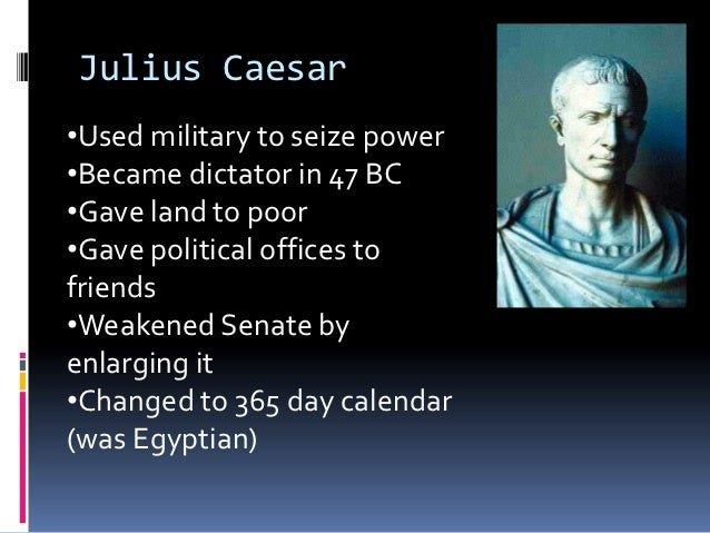an overview of the military and political strength of julius caesar Gaius julius caesar was born 12 july 100 bce (though some cite 102 as his birth year) his father, also gaius julius caesar, was a praetor who governed his father, also gaius julius caesar, was a praetor who governed the province of asia and his mother, aurelia cotta.
