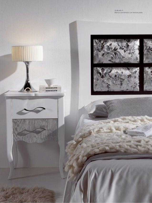 Muebles dormitorios de matrimonio romantic for Dormitorios modernos en blanco y plata