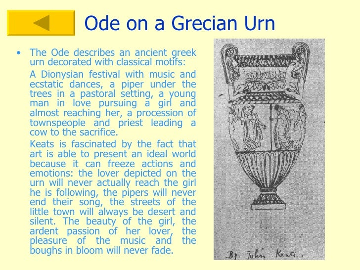 an analysis of the abstract and the tangible in john keatss poem ode on a grecian urn (illustrated) john s hart 304 silver desert, the john schumacher 43 song of the sea, a poem martha p lowe 170 south, the great (illustrated.