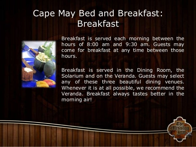 Bed And Breakfast Cape Cod Nj
