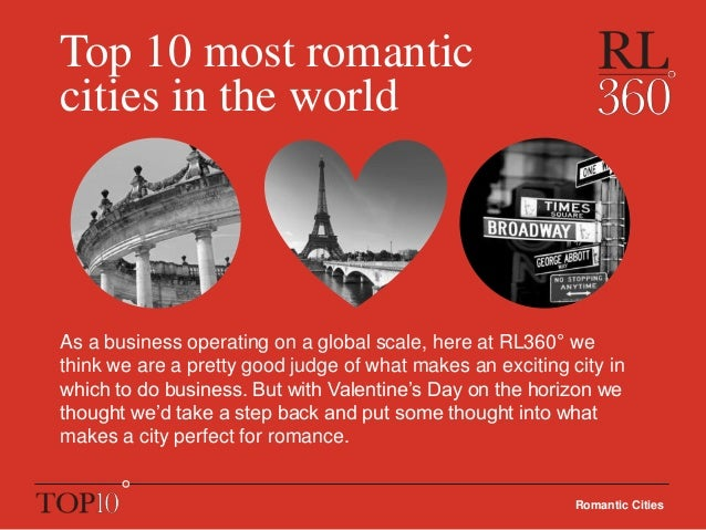 top 10 romantic cities in the world