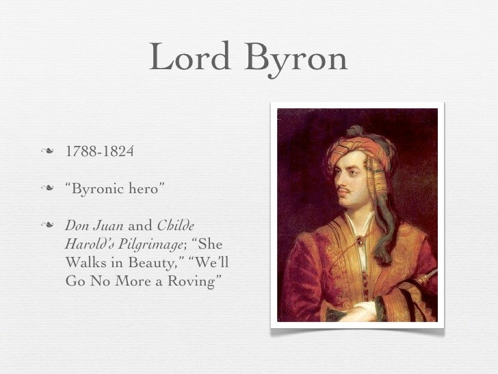 Byronic hero essays