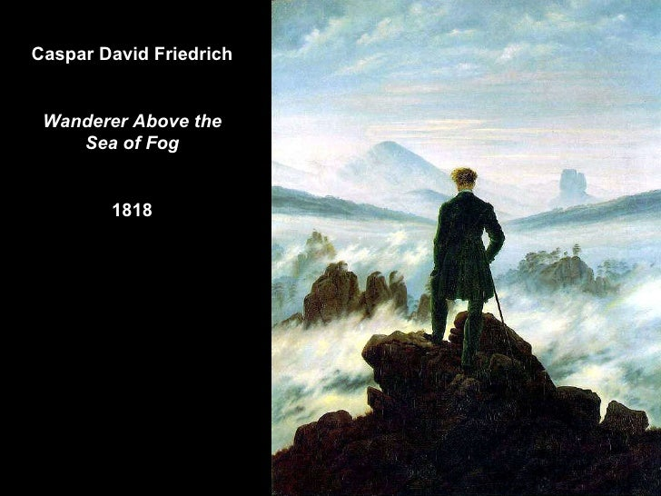 Caspar David Friedrich Wanderer Above the Sea of Fog 1818