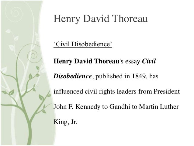 a review of henry david thoreau disobedient act against paying taxes Emerson, thoreau, and the transcendentalist movement 92 pages emerson,  connect to download get pdf emerson, thoreau, and the transcendentalist movement download.