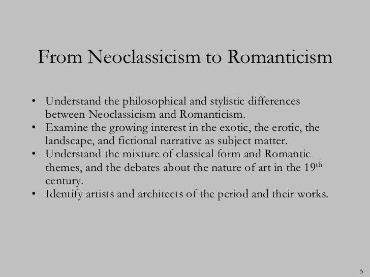 What are some similarities between romanticism and realism?