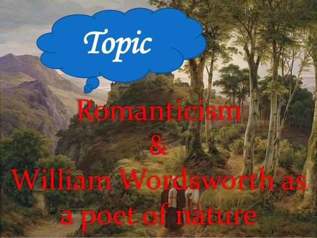 pantheistic view of nature wordsworth