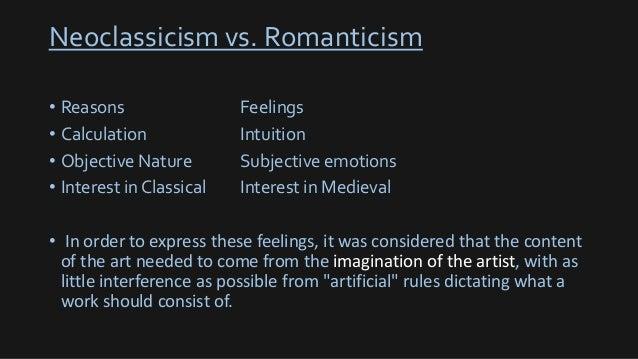Romanticism essay
