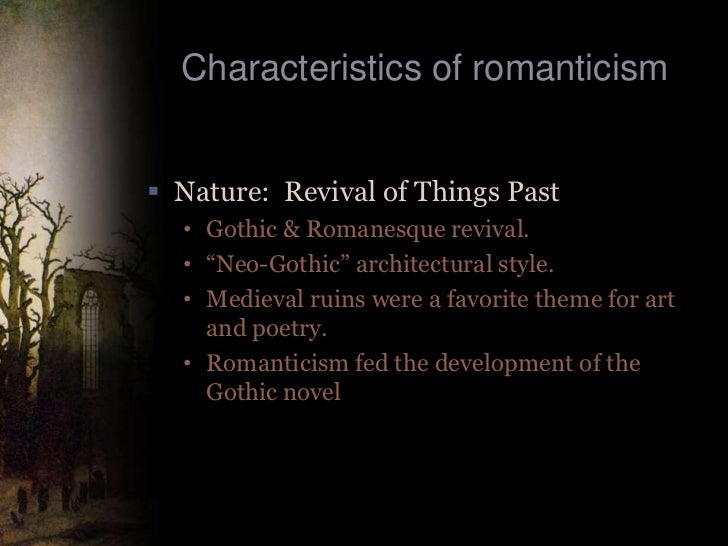 Romantic literature definition