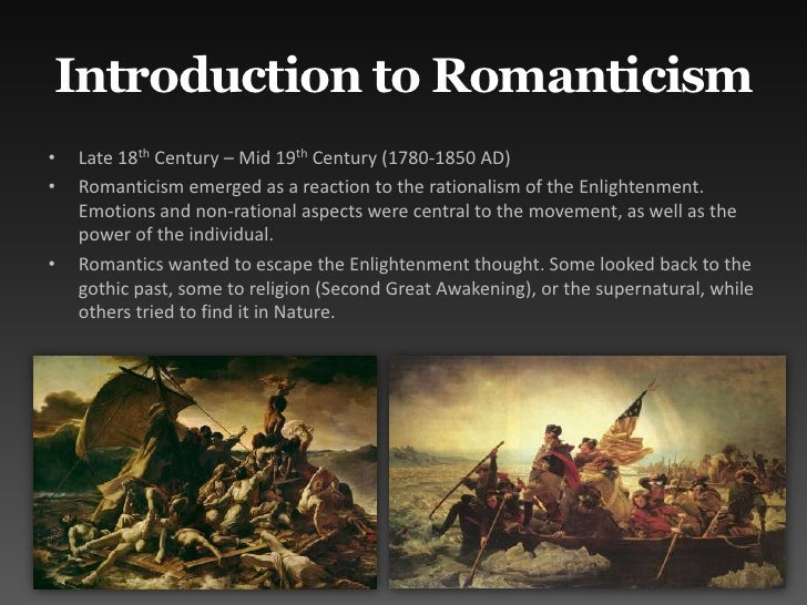 a comparison of views of nature by romantics and realists Romanticism vs realism essays american romanticism was as an artistic movement that took place during the eighteenth century romantic writers for nature and.