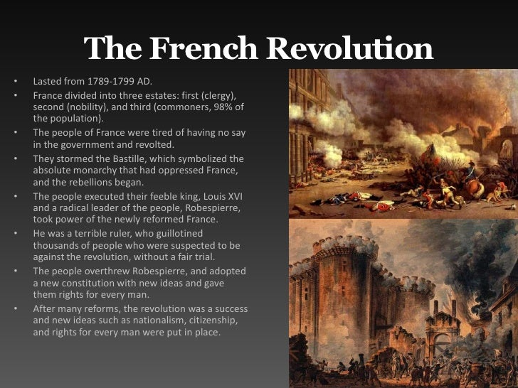 the influence of the french revolution on the 19th century french romanticism The french revolution and romanticism which will always be a great influence on the nature of which took place in europe in the 19th century.