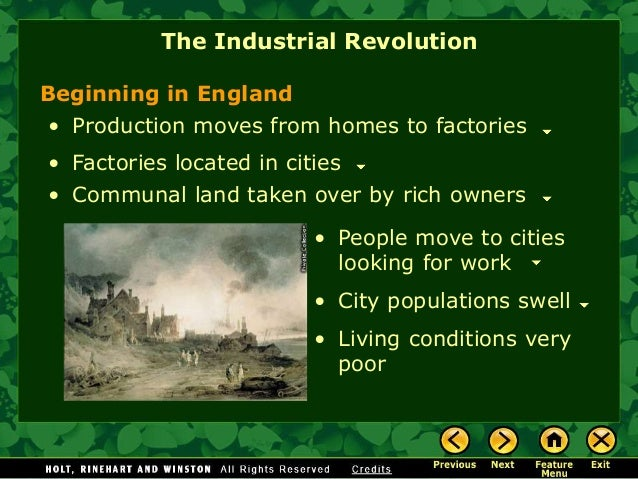 an introduction to the process of industrialization and liberalism in england The history of conservatism, liberalism & libertarianism (part 4 - liberalism in 18th & 19th century great britain)  numbers of people in the political process.