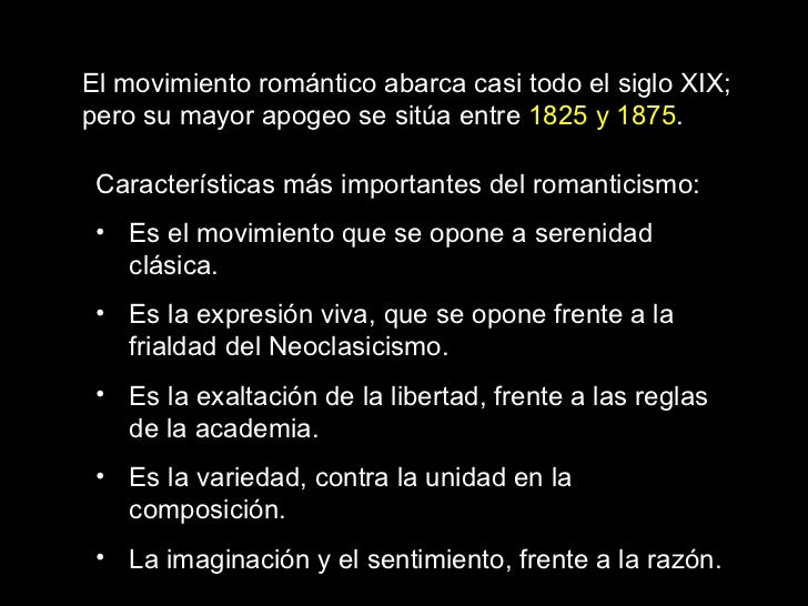 Romanticismo historia del arte Romanticismo arquitectura