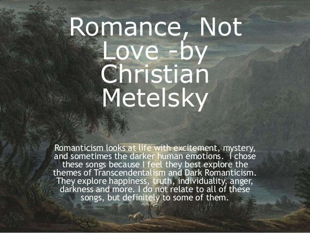 dark romanticism themes