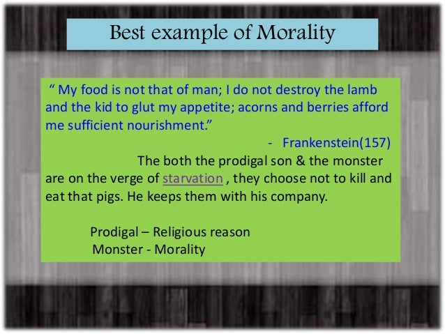 frankenstein morality Frankenstein (1931) quotes on imdb: memorable quotes and exchanges from movies, tv series and more.