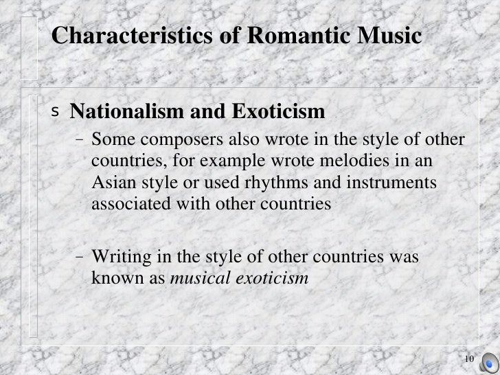 Music in the romantic era ppt video online download.