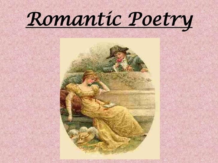 Romantic Poetry<br />