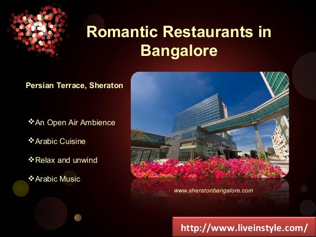 Romantic restaurants in bangalore for Terrace restaurants in bangalore