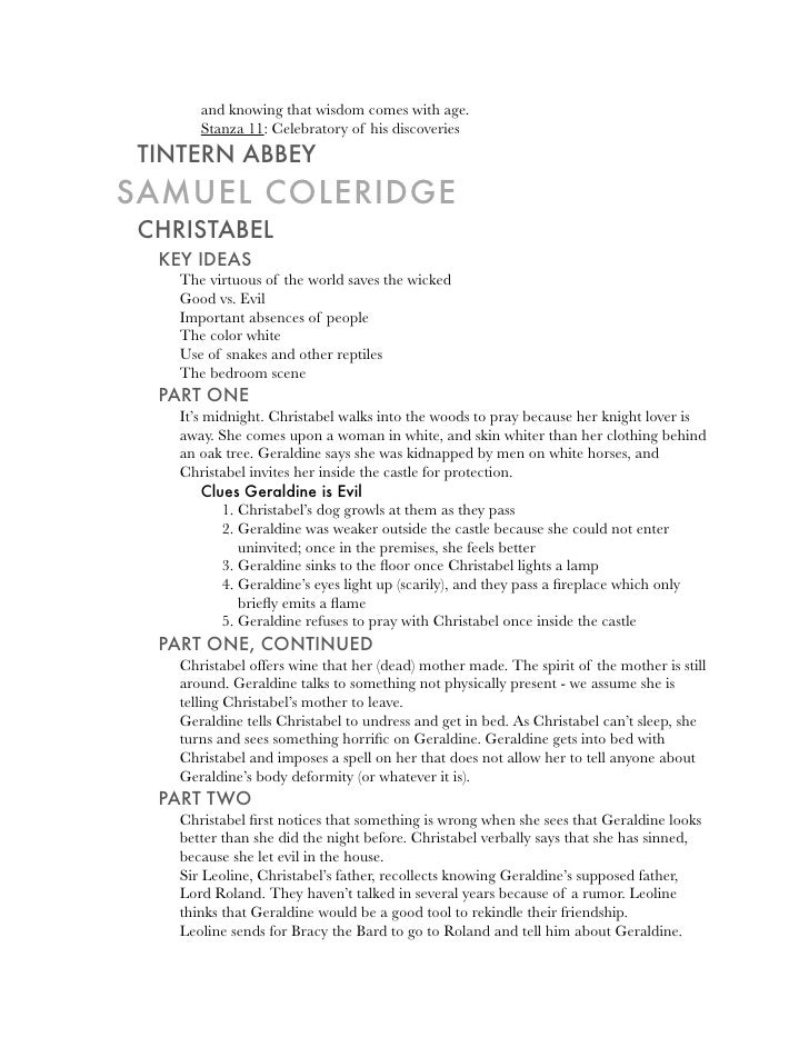 analysis of tintern abbey stanza by stanza