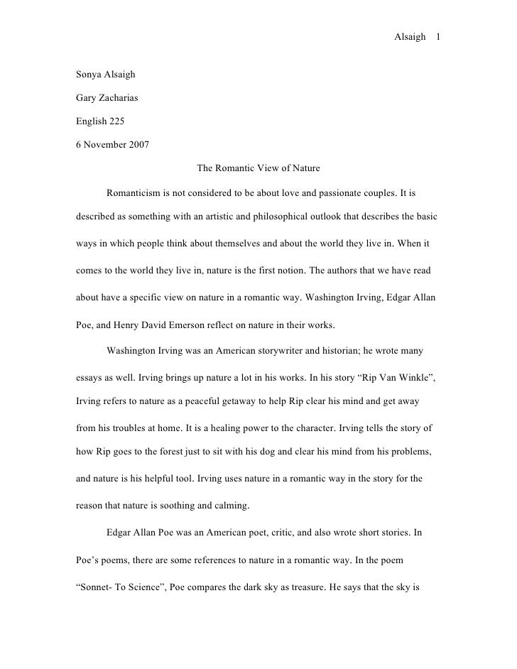 Essay On Education Is The Key To Success View Of Nature Essay R Tic View Of Nature Essay Essay Importance Of Water also Example Of An Essay With A Thesis Statement The Nature Essay Nature Essay Essays About Nature Toreto Co Com  Demand And Supply Essay