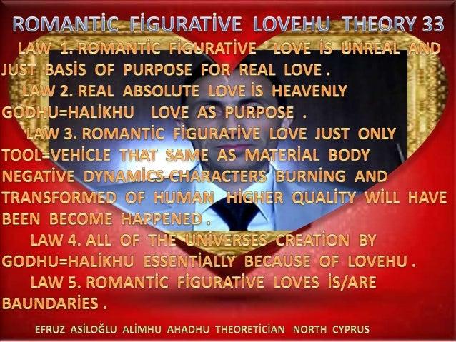 Romanti̇  fi̇gurati̇ve   lovehu  theory  33  a