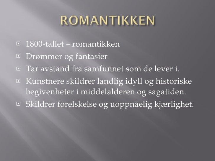 Romantikken ROMANTIKKEN
