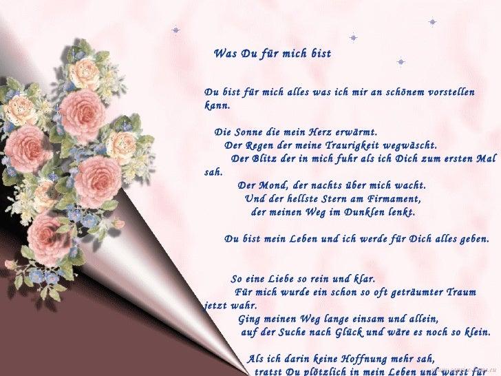 Top Du Bist Was Ganz Besonderes Gedicht Zitate Freundschaft