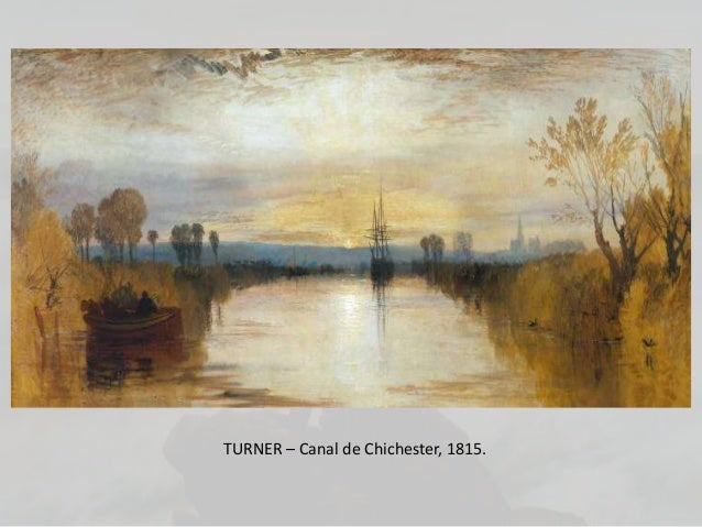 TURNER – Canal de Chichester, 1815.
