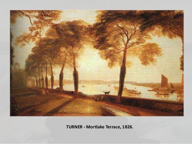 TURNER - Mortlake Terrace, 1826.