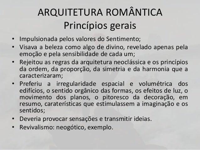 O ROMANTISMO NO BRASILArtes Plásticas• As obras dos pintores brasileiros buscavamvalorizar o nacionalismo, retratando fato...