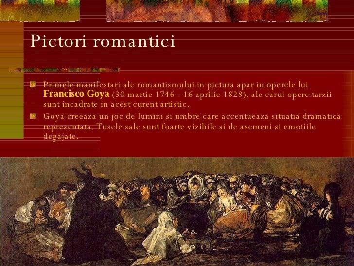 Curentul artistic Romantism Slide 2