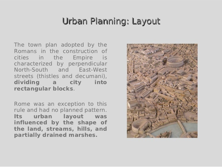 Urban planning in ancient Egypt