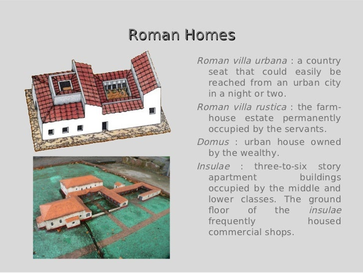 Green building in ancient rome for Modern roman villa house plans