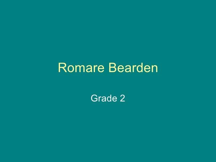 Romare Bearden Grade 2