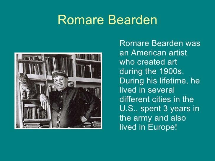 Romare Bearden Video For Kids