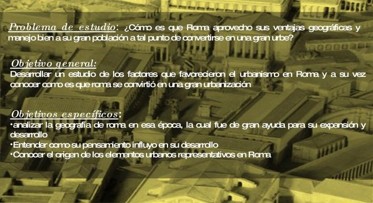 Roma urbanismo Slide 2
