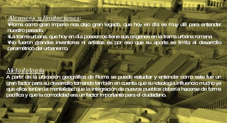 Roma urbanismo Slide 3
