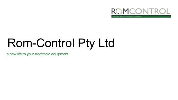 Rom-Control Pty Ltd