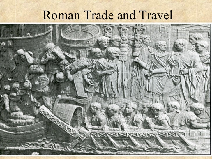 Trading system in ancient rome