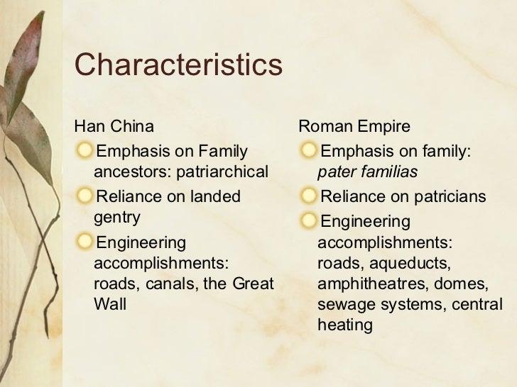 roman empire and han dynasty comparison essay
