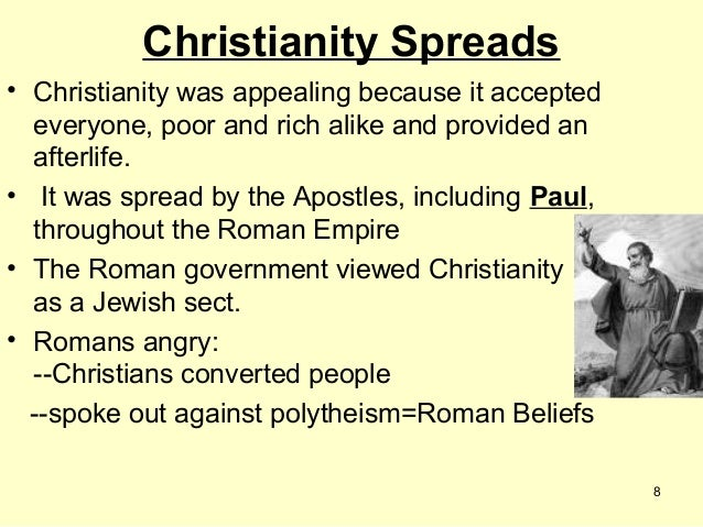 Rise of Christianity - Rome Notes #4
