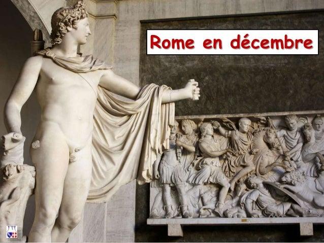 Rome en décembre