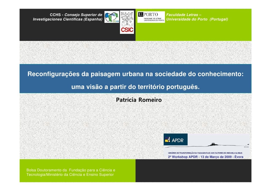 ssasas             CCHS - Consejo Superior de    Investigaciones Científicas (Espanha)                                    ...