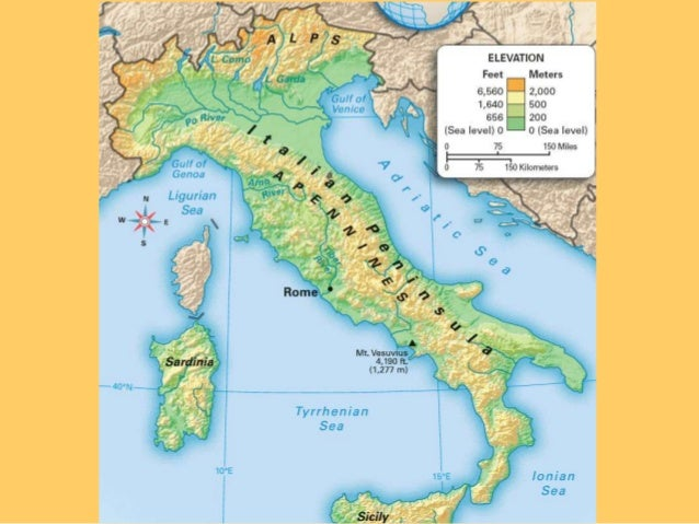 Rome Lesson Geography And Economics - Geography of rome