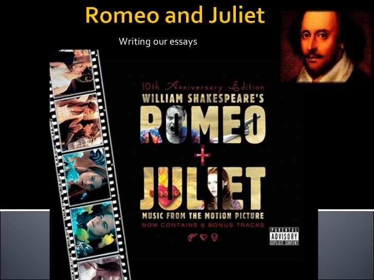 romeo and juliet essay intro An introduction to shakespeare's works and how this one man had such a profound influence on the english language  the tragedy of romeo and juliet,.