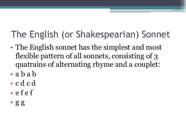 what to write a sonnet about
